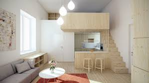 Designing For Super Small Spaces  Micro Apartments - Small apartment interior design