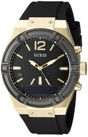 amazon black friday watch sale amazon com guess women u0027s connect smartwatch with amazon alexa and
