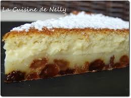 cuisine de gateau gâteau magique coco raisins macérés la cuisine de nelly