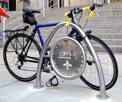 help mayor slay place bike racks around st louis rally saint louis