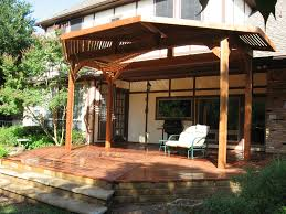 Deck With Patio by Redwood Deck With Patio Cover
