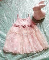 Shabby Chic Boutique Clothing by Beautiful Pink Lace Shabby Chic Baby Dress Spring Summer