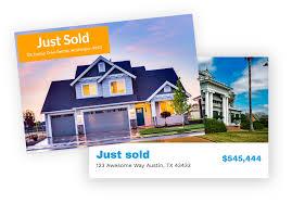 diy real estate postcard marketing mailjoy