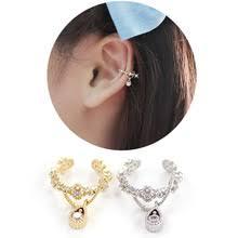 earrings for pierced ears popular cartilage cuff earrings for pierced ears buy cheap