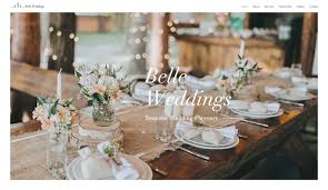Wedding Designer Weddings U0026 Celebrations Website Templates Events Wix