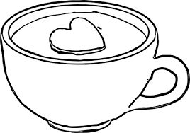 any cocoa mug prevew coloring page wecoloringpage