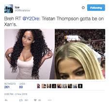 tristan thompson didn u0027t get a khloe kardashian tattoo on his back