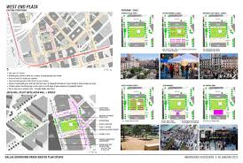 Downtown Dallas Map by Dallas Downtown Parks Master Plan U2013 Hargreaves Associates
