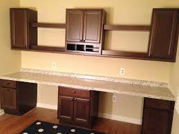 Desk Height Base Cabinets Lowes Built Organized Home Office Hometalk