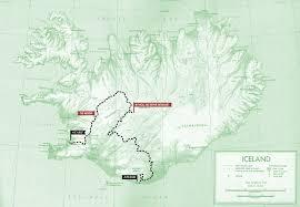 Iceland Map Location Blood Sweat And Skyr Bikepacking Iceland Bikepacking Com