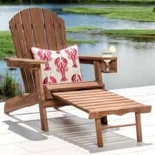 Patio Chairs With Ottoman Wood Patio Chair With Hidden Ottoman Ideas Patio Chair With