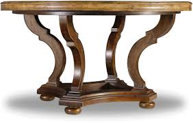 Round Pedestal Dining Table With Leaf Hooker Furniture Dining Room Archivist 54in Round Dining Table W 1