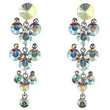 jim earrings jim earrings ce944 ab silver swarovski