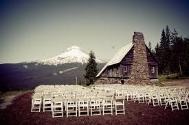 outdoor wedding venues oregon wedding venue in portland mt skibowl wedding venue mount