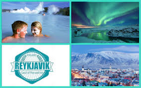 reykjavik choice of 4 breaks including flights and