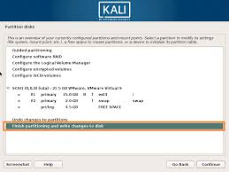 Unsupported Partition Table How To Install Kali Linux Version 2017 1