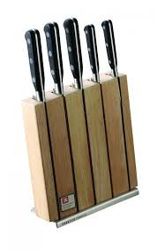 sheffield sabatier trompette knife block set 5 pieces