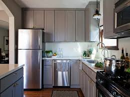 Painted Gray Kitchen Cabinets Grey Kitchen Cabinets Ideas Video And Photos Madlonsbigbear Com
