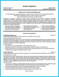 Best Operations Manager Resume by Resume Bank Assistant Manager Contegri Com