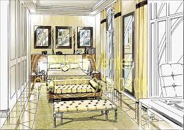 Bedroom Interior Design Sketches Interior Design Bedroom Drawings With Interior Design Perspective