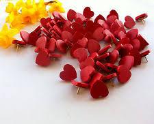 Pushpins Heart Message Push Pins Thumb Tacks Ebay