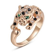 aliexpress buy brand tracyswing rings for women brand tracyswing classic unique leopard series ring for women with