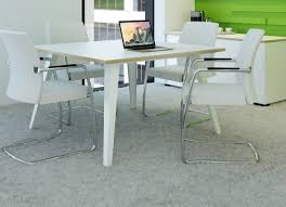Square Boardroom Table Reflex Square Meeting Table