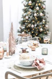 how to style your home with the winter blush christmas interior trend