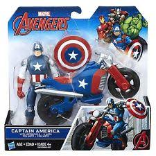 captain america kids comic book hero action figure vehicles ebay