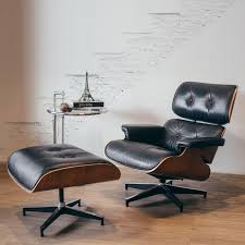 eames chair side table replica eames lounge chair ottoman with side table furniture