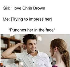 Chris Brown Meme - chris brown meme tumblr