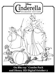 cinderella activity color pages kids stuff