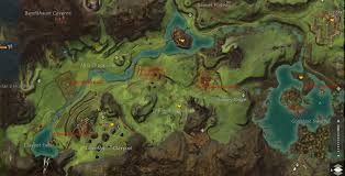 Gw2 World Map by Queensdale Skill Ups Tasks Pois And Waypoints Map Dulfy