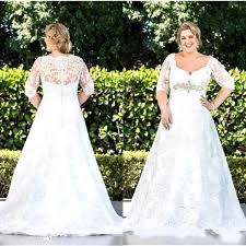 50 beautiful plus size wedding gowns pink lover
