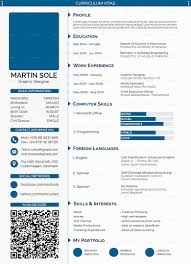 Job Resume Personal Qualities by Professional Cv Template For Graphic Designer Include Status Bar