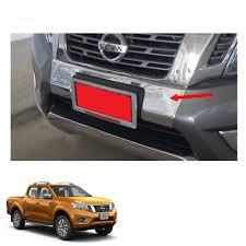 nissan sahara 2016 front bumper cover chrome for nissan np300 frontier navara 2014