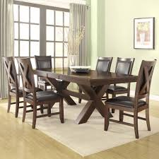 home design saddle brown small kitchen table and 2 chairs 3