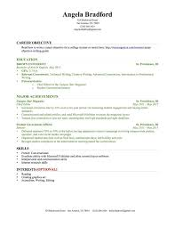 resume career objective student objective for resume student objective for resume