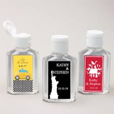 Nyc Wedding Favors by New York Personalized Sanitizer New York Wedding Favors