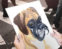 boxer dog art dog art print boxer dog art animals in clothes civil war wall