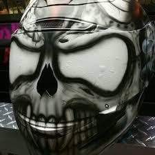 airbrushed motocross helmets skull motorcycle helmets warning not all skulls are created equal