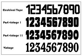 motocross bike numbers 7 motocross number fonts images nascar race car number fonts