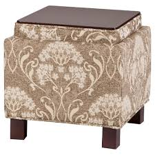 Ottoman Pillows Shelly Square Storage Ottoman With Pillows Beige Target