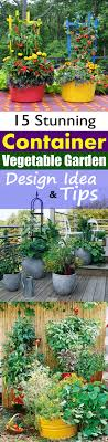 Garden Tips And Ideas 15 Stunning Container Vegetable Garden Design Ideas Tips