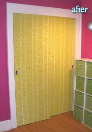 Fabric Closet Doors Roundup 10 Easy And Diyable Closet Door Makeovers Curbly