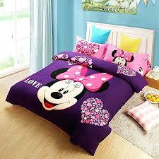 Purple Toddler Bedding Set Minnie Mouse Bedroom Set Gorgeous Mouse Purple Bedding Set Minnie