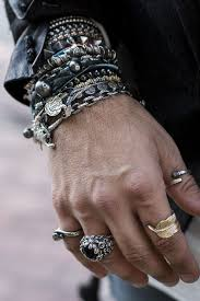 jewelry rings mens images Mens jewelry rings 9 bohemian style tips for men mens fashion blog jpg