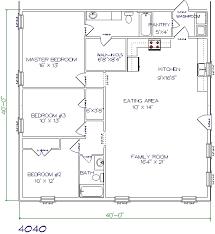 Pole Barn House Plans 40x40 Floor Plans Pole Barn Home Plans Pinterest House Barn