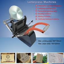 2017 ln85 business cards letterpress printing machine manual name