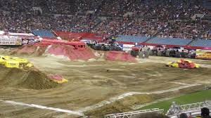 monster truck jam jacksonville fl monster jam jax fl 2012 gunslinger freestyle youtube